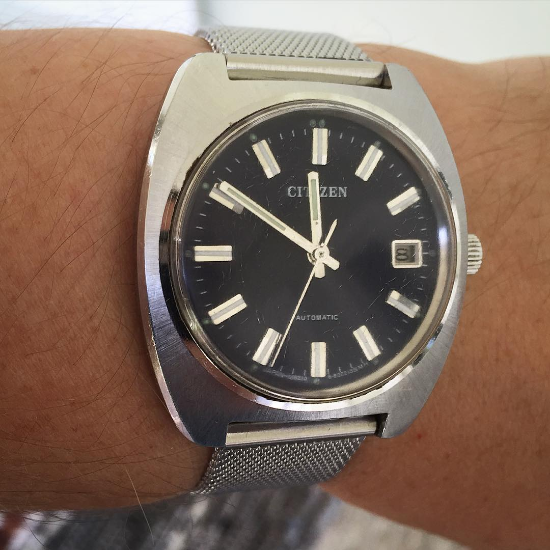 Even a cheap vintage watch find can be a valuable watch to wear. This Citizen I found at a flea market had the worst scratches buffed out by yours truly, and works well enough not to need to go into the shop at all.