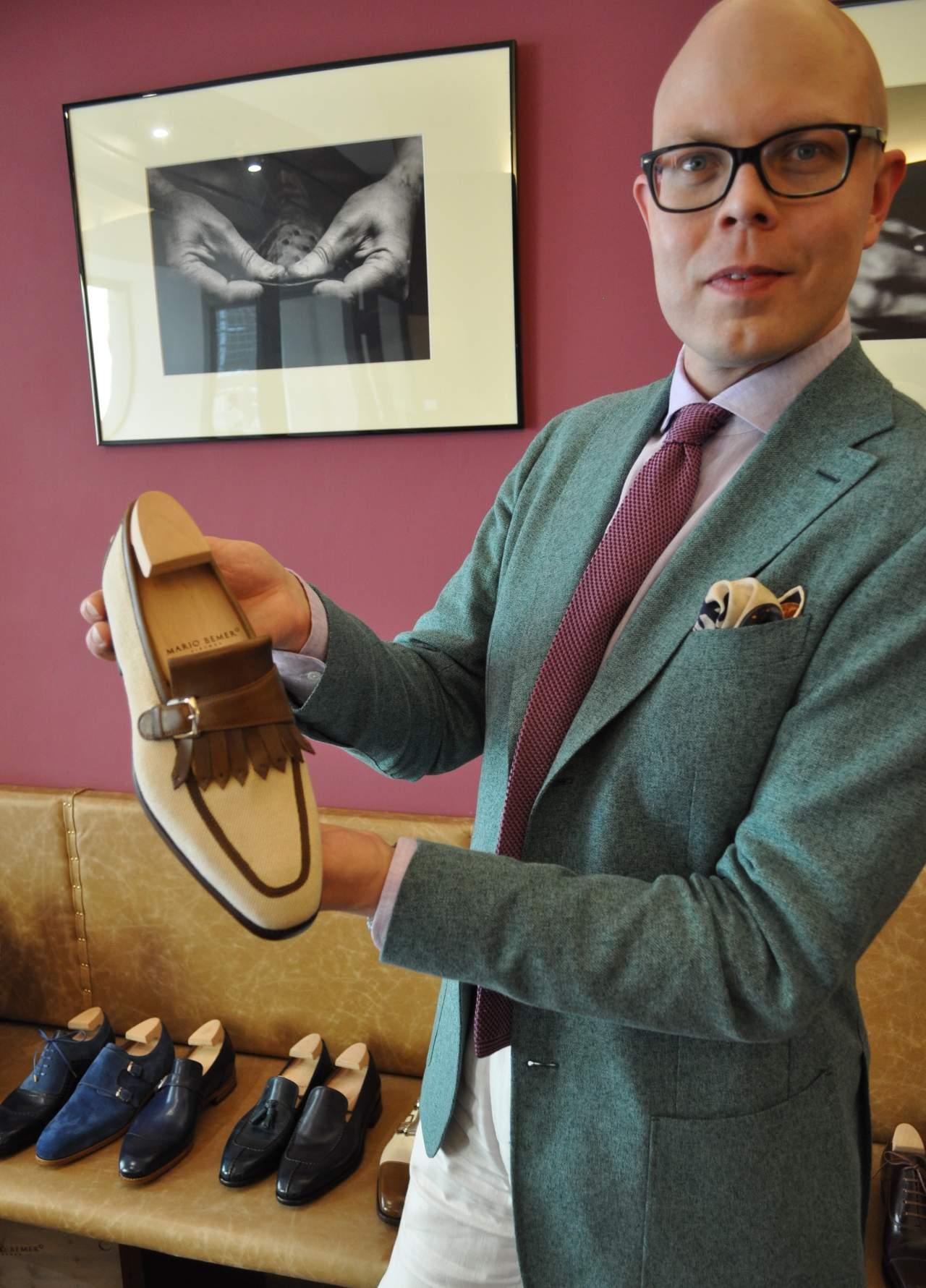 Mario Bemer kiltie loafer