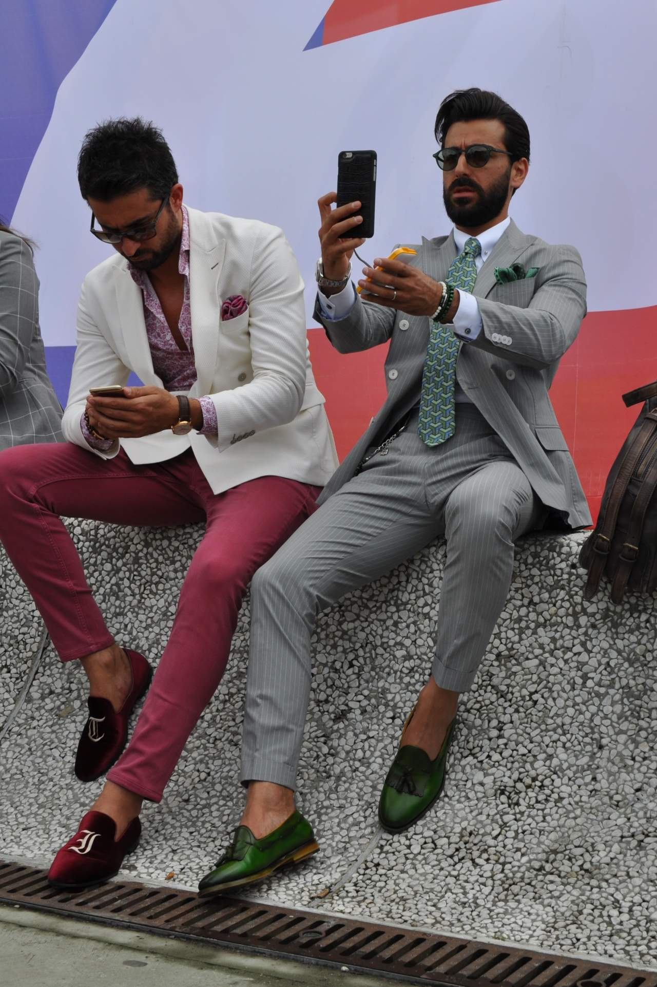 pitti 90 day one selfie