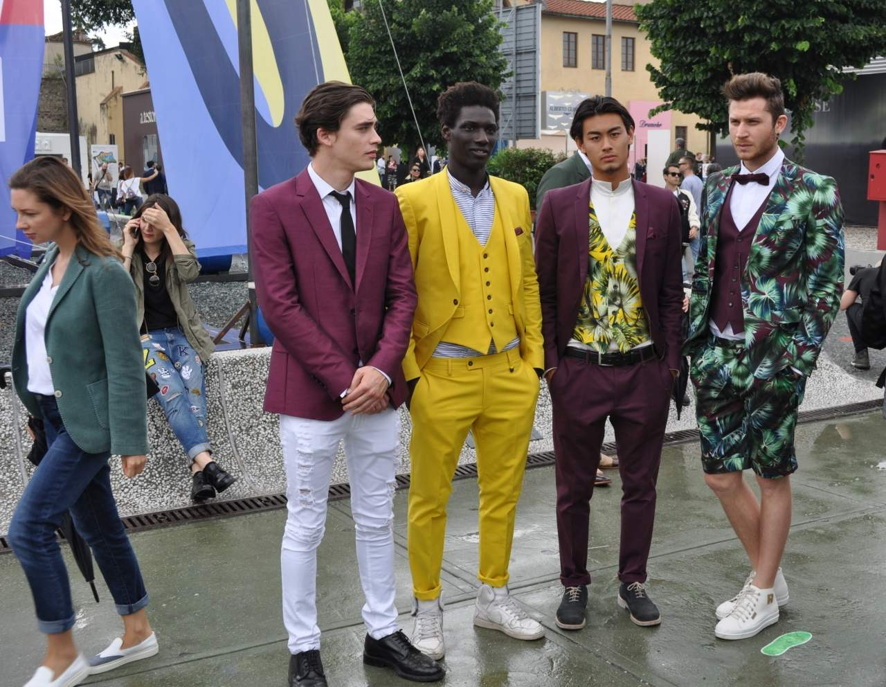 pitti90 day 1 suits