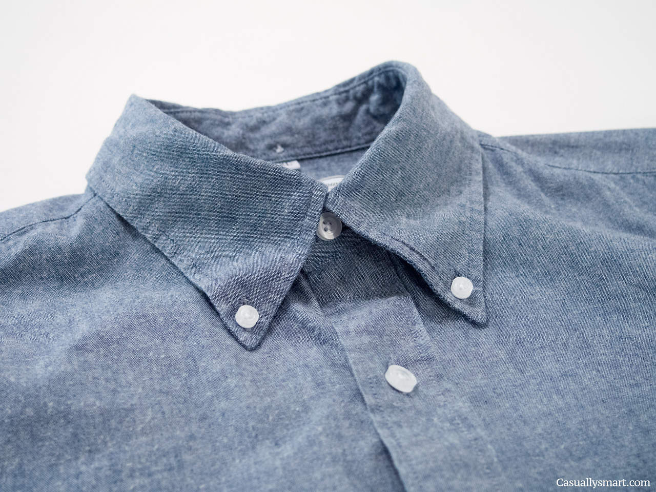 Lean garments chambray locker loop stylefellow for Locker loop dress shirt