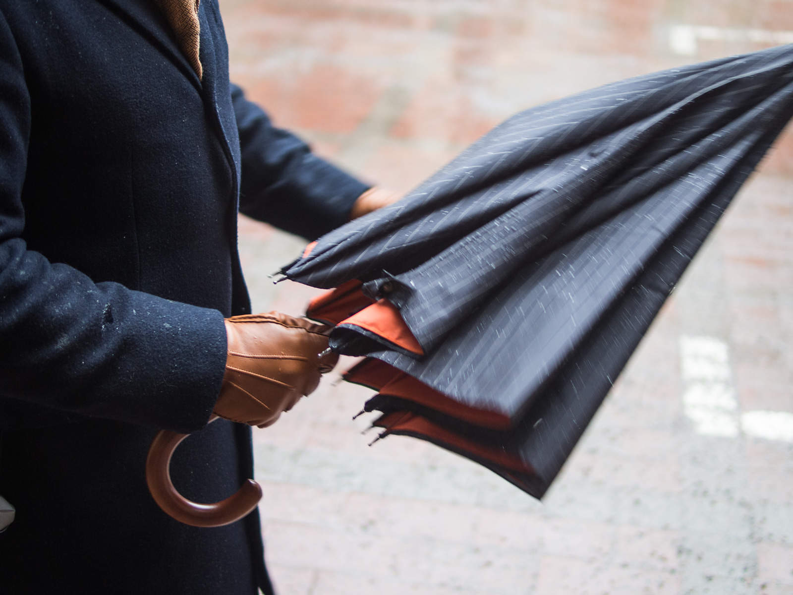 London Undercover makes a classically stylish umbrella.
