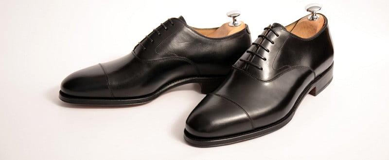 Meermin Black Calf Oxfords (101198). Picture: Meermin