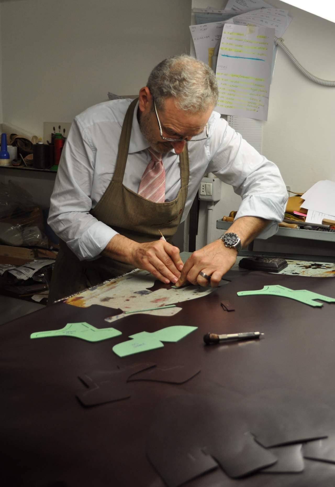 Mario Bemer, artisan shoemaker
