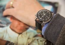 Omega Speedmaster Professional on wrist