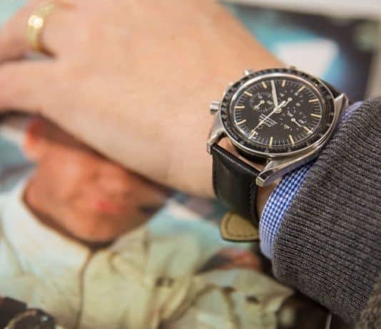 Omega Speedmaster Professional on wrist
