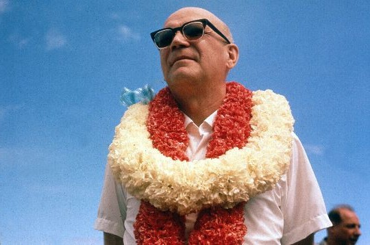 Kekkonen in Hawaii in 1961. Image: Wikimedia Commons