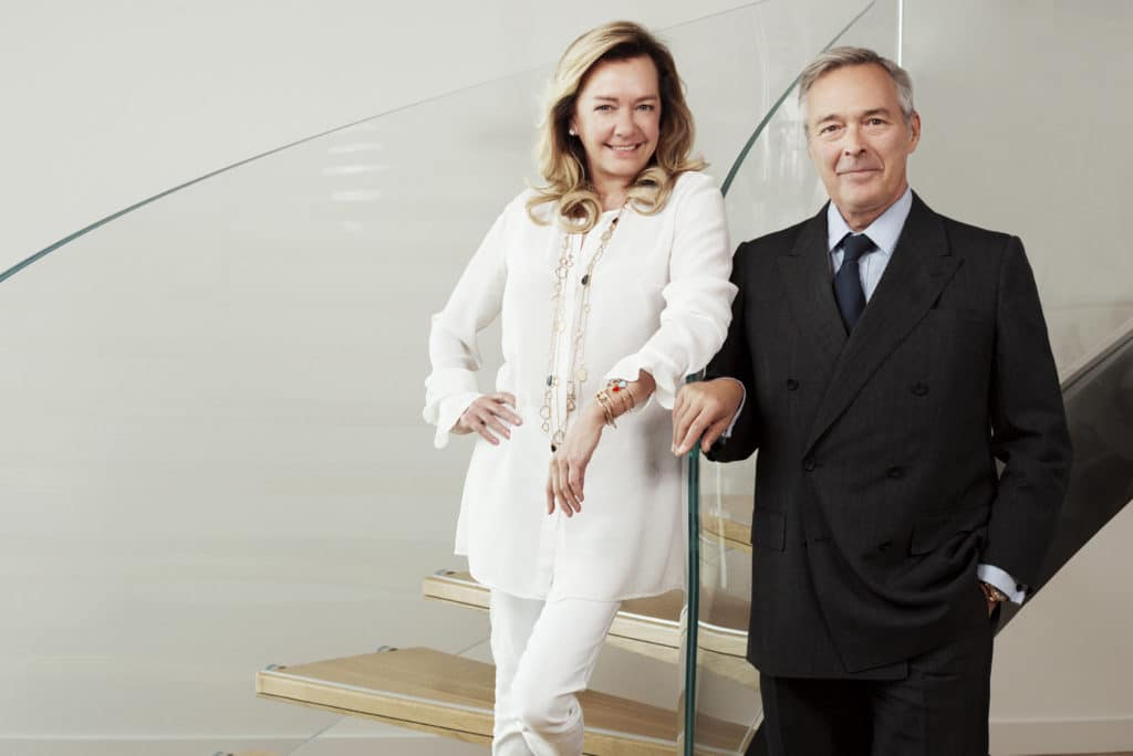 Caroline Scheufele and Karl-Friedrich Scheufele, co-presidents of Chopard.