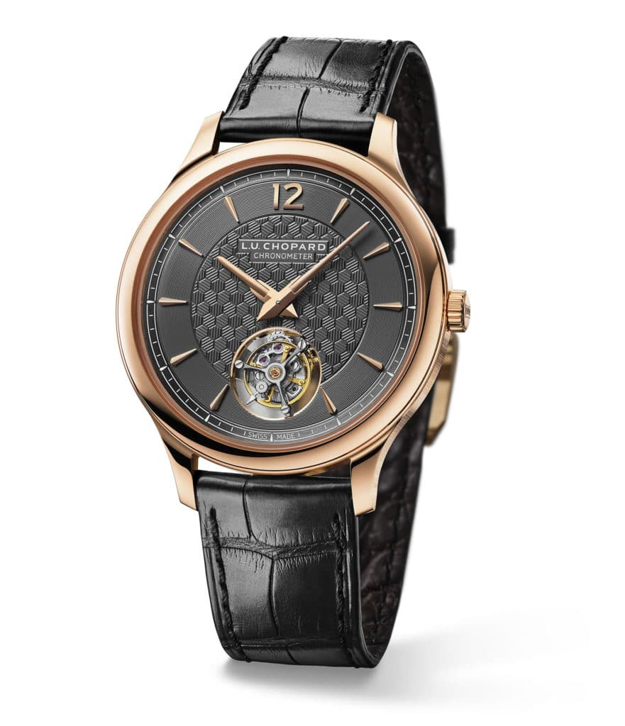"Chopard L.U.C Flying T Twin 18-carat Ethically certified ""Fairmined"" rose gold"