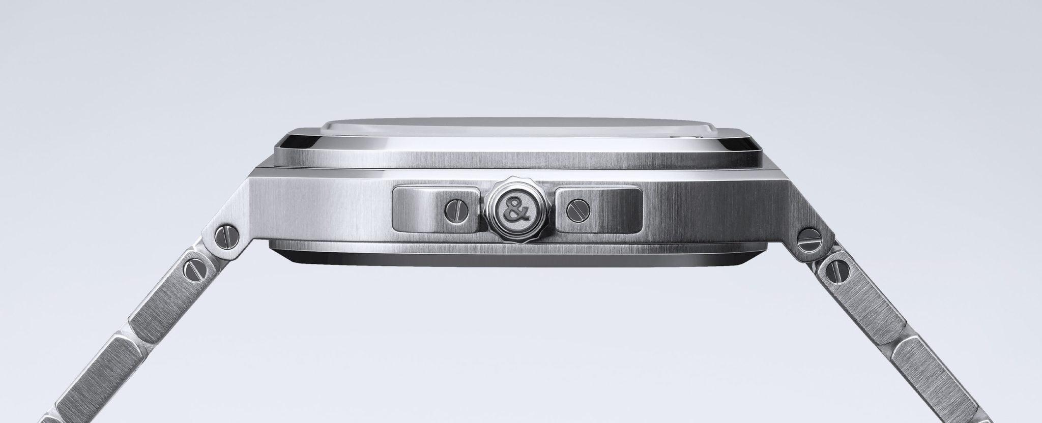 Bell & Ross BR 05 integrated steel bracelet