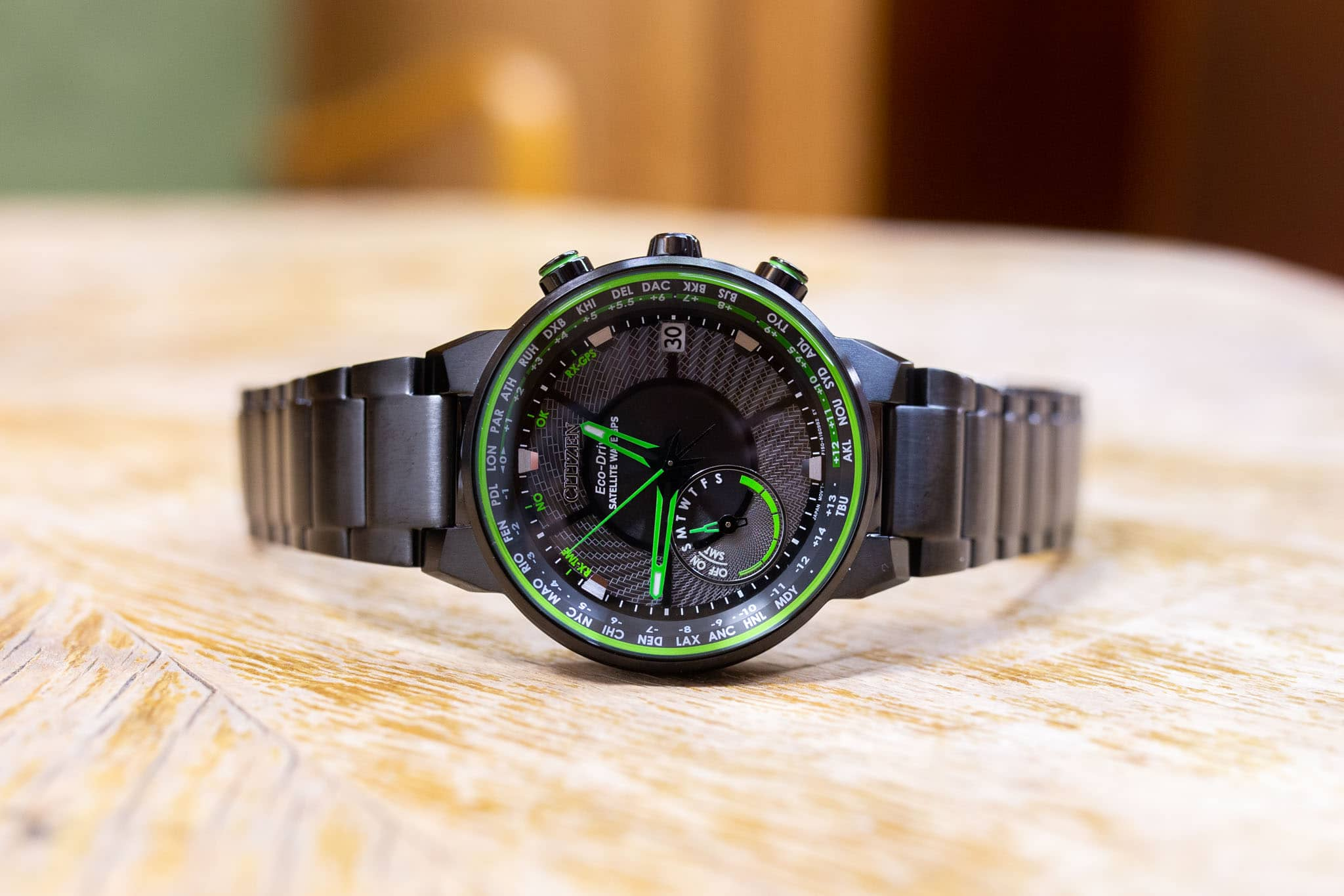 Citizen Satellite Wave GPS Eco-Drive