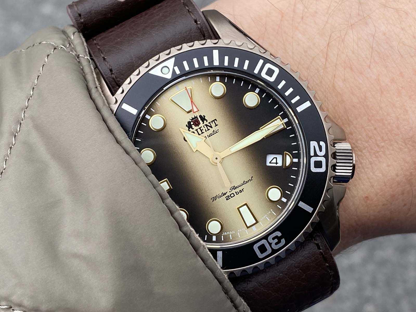 The ORIENT 70th Anniversary Limited Edition is an impressive diver's watch.